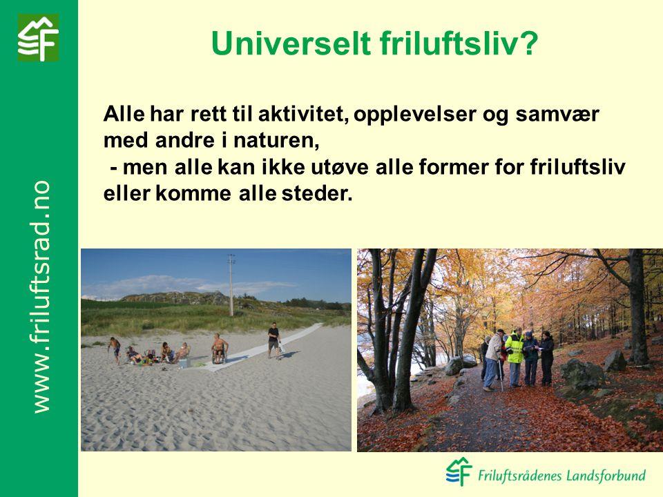 Universelt friluftsliv