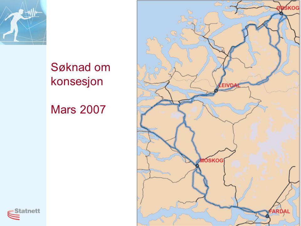 Søknad om konsesjon Mars 2007