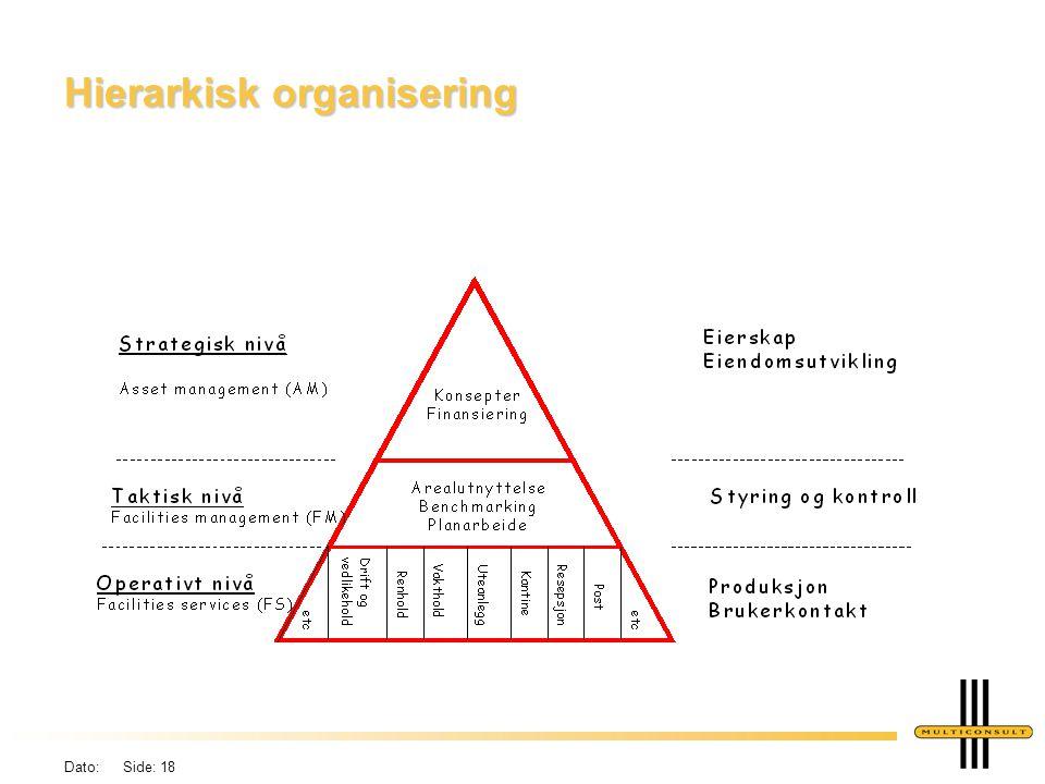 Hierarkisk organisering