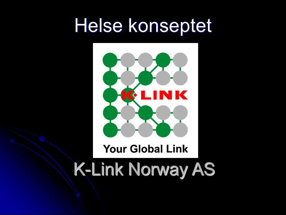 Helse konseptet K-Link Norway AS
