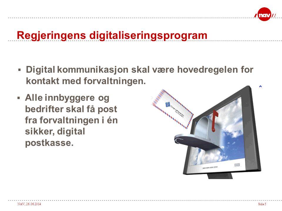 Regjeringens digitaliseringsprogram