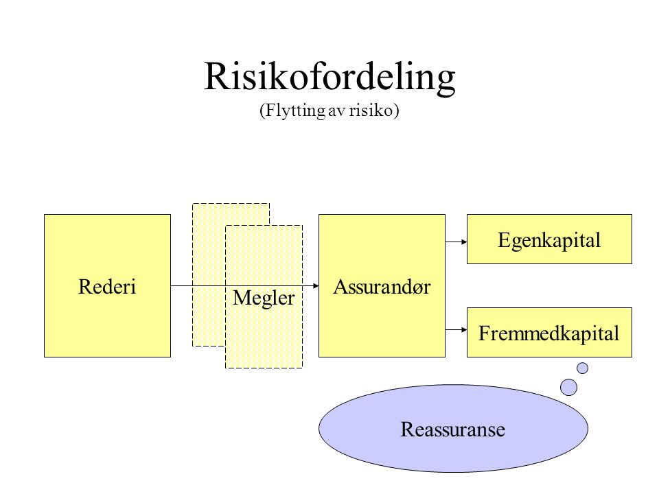 Risikofordeling (Flytting av risiko)