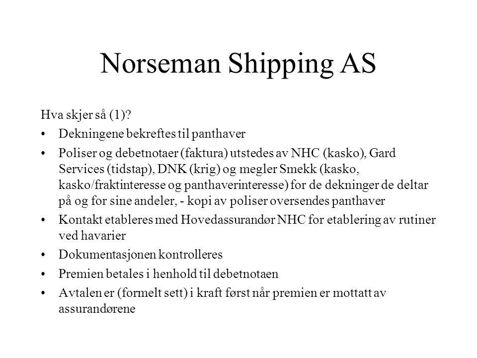 Norseman Shipping AS Hva skjer så (1)