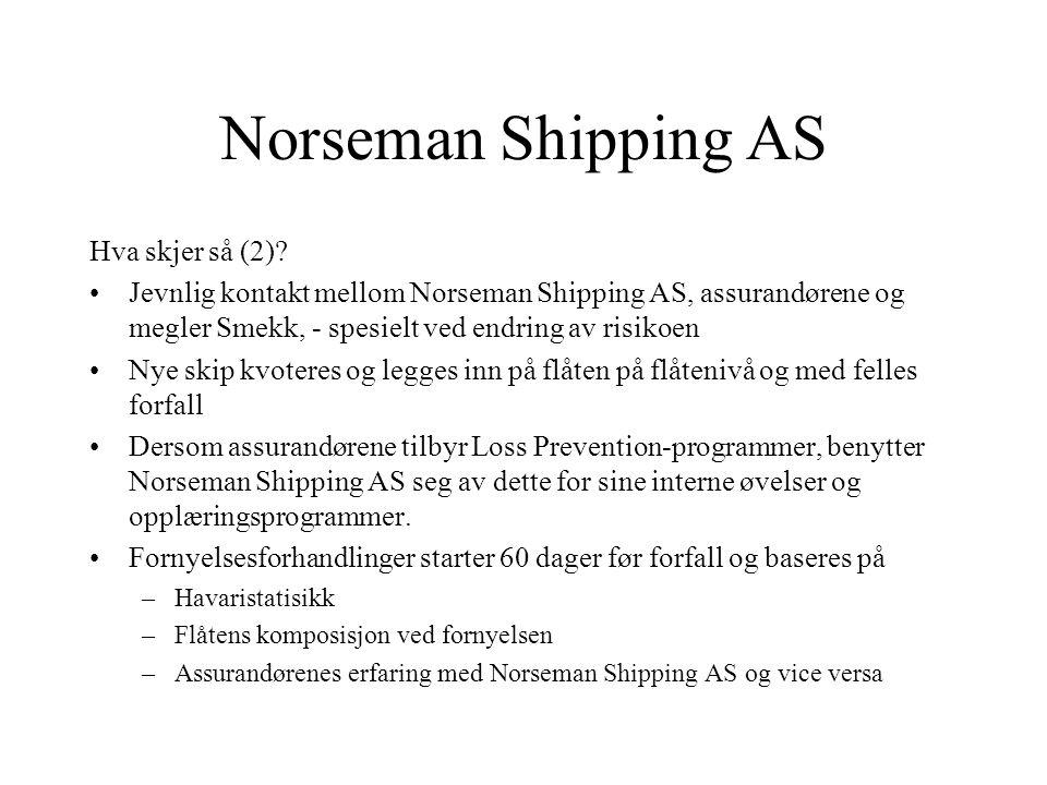 Norseman Shipping AS Hva skjer så (2)