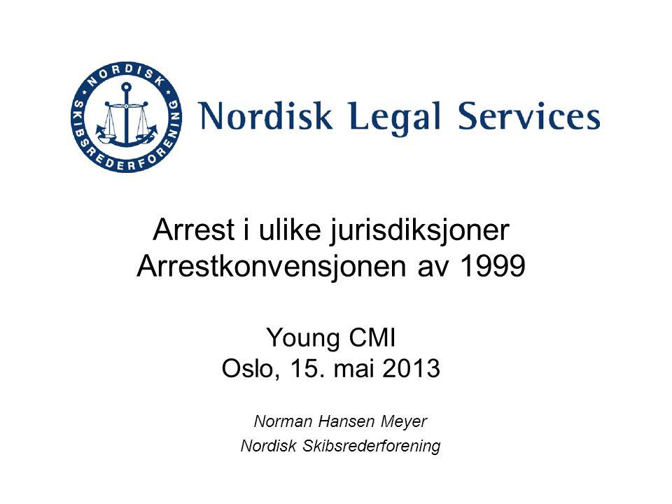 Norman Hansen Meyer Nordisk Skibsrederforening