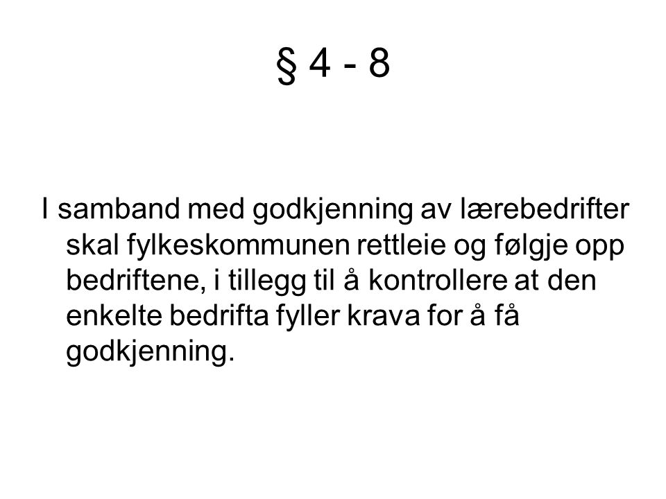 § 4 - 8
