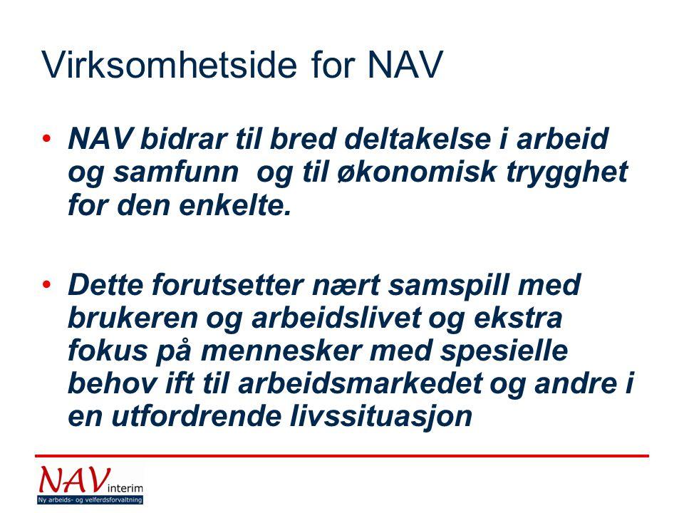 Virksomhetside for NAV