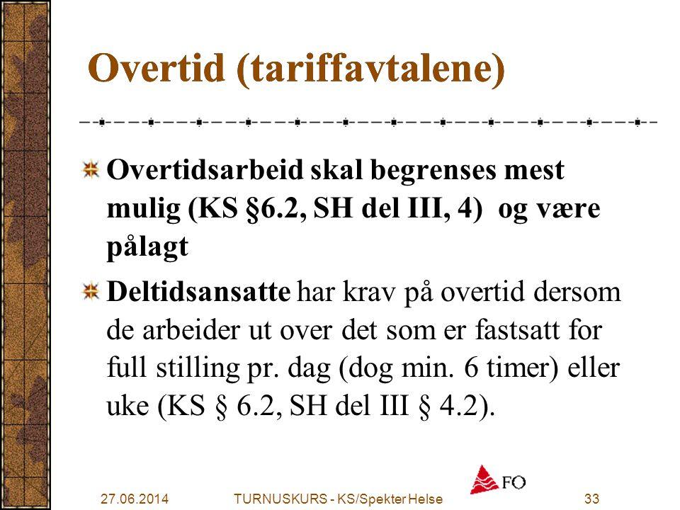 Overtid (tariffavtalene)