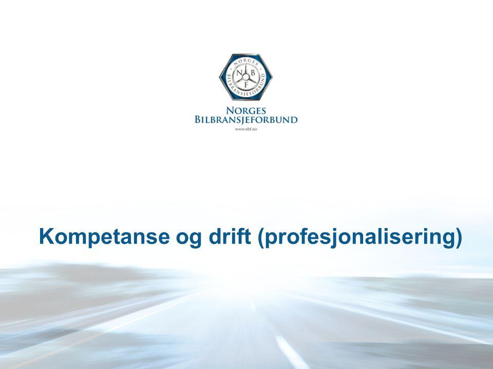 Kompetanse og drift (profesjonalisering)