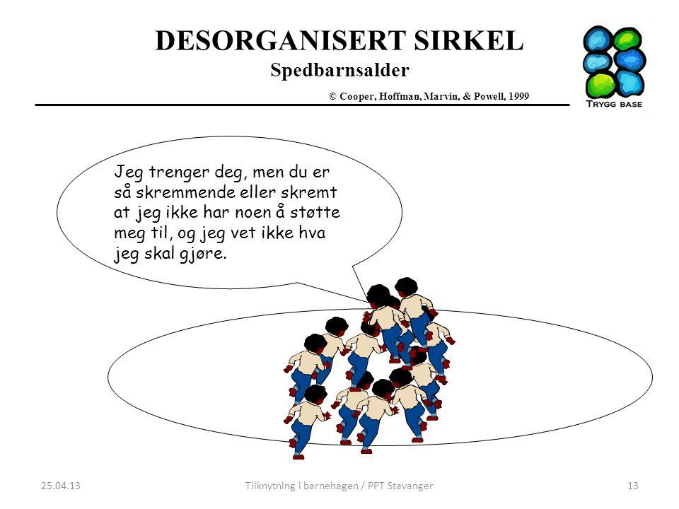 Tilknytning i barnehagen / PPT Stavanger