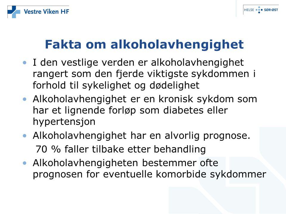 Fakta om alkoholavhengighet