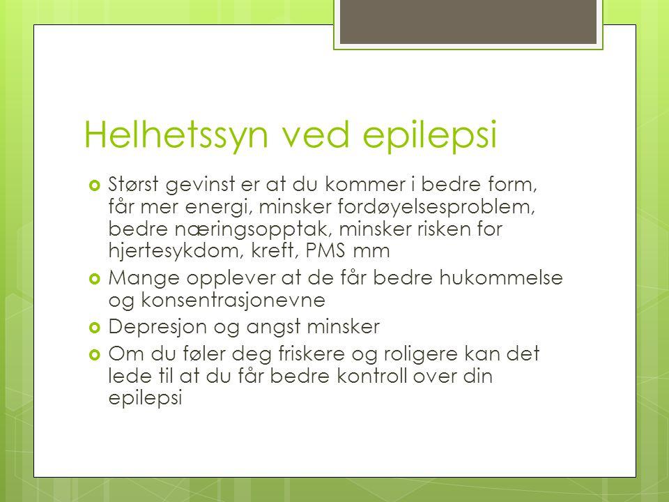 Helhetssyn ved epilepsi