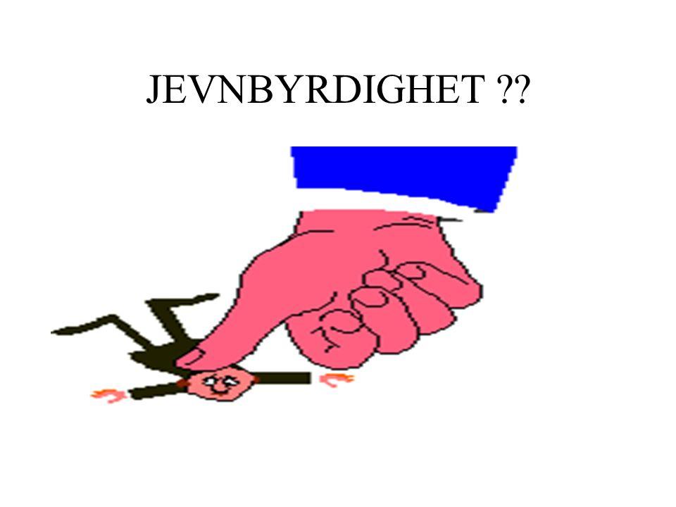JEVNBYRDIGHET