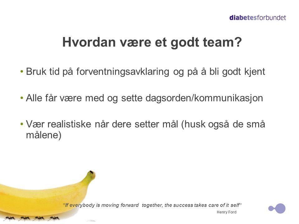 Hvordan være et godt team