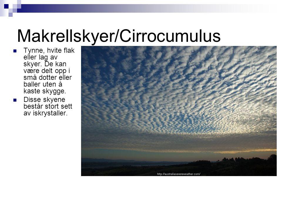 Makrellskyer/Cirrocumulus