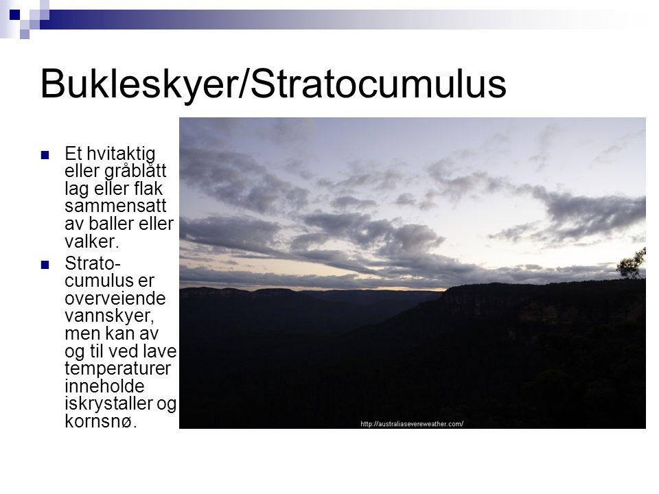 Bukleskyer/Stratocumulus