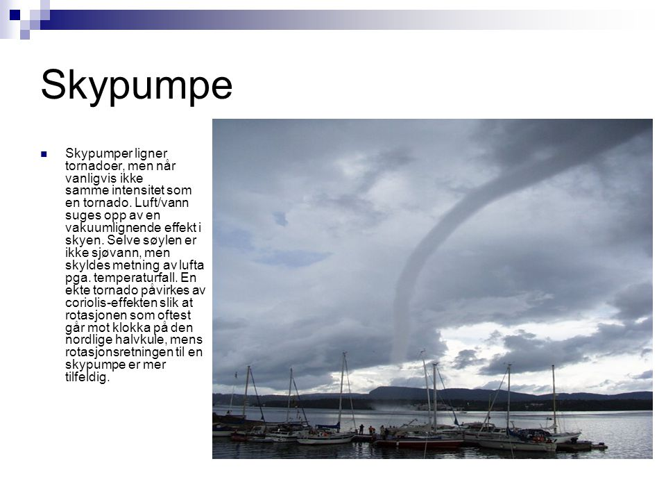 Skypumpe