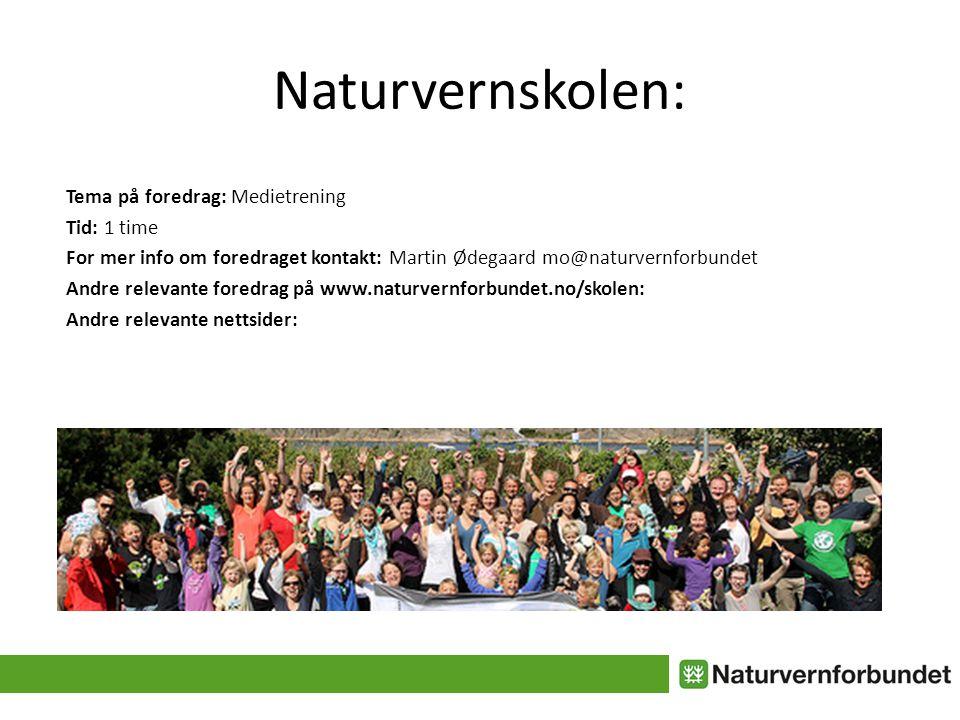 Naturvernskolen: