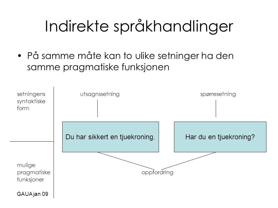 Indirekte språkhandlinger