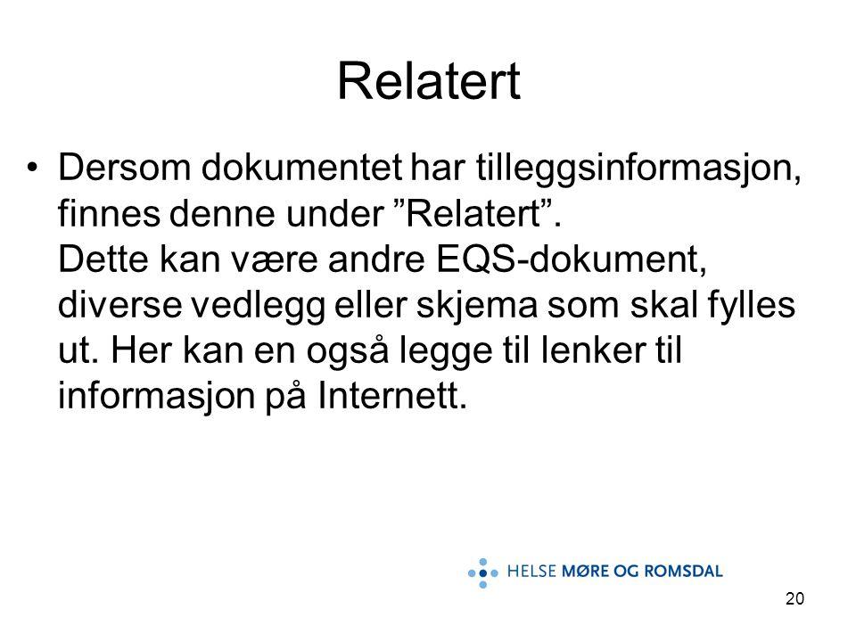 Relatert