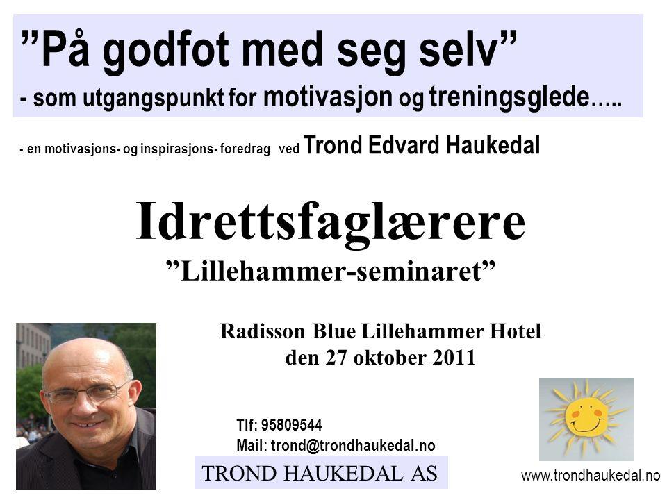 Idrettsfaglærere Lillehammer-seminaret