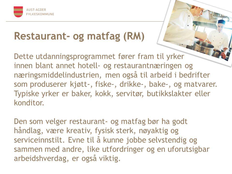 Restaurant- og matfag (RM)