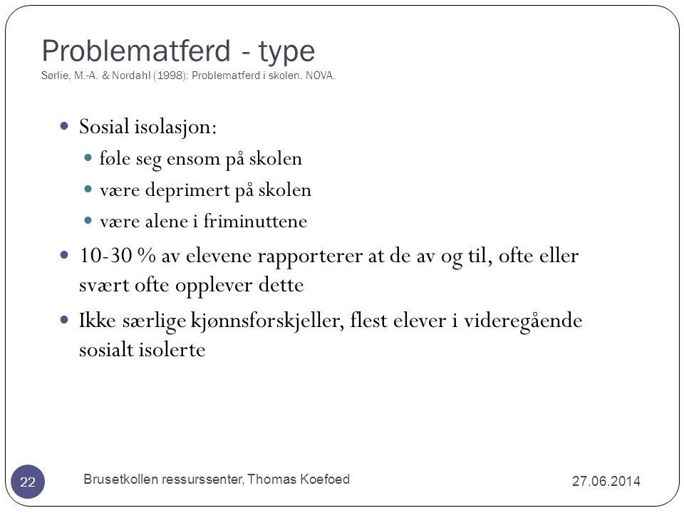 Brusetkollen ressurssenter, Thomas Koefoed