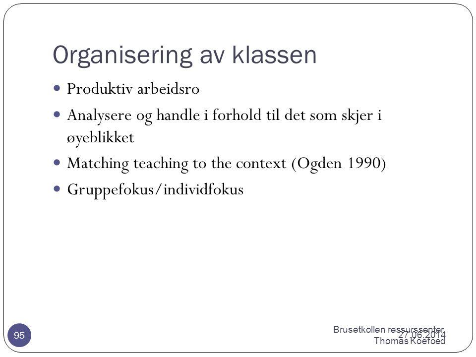 Organisering av klassen
