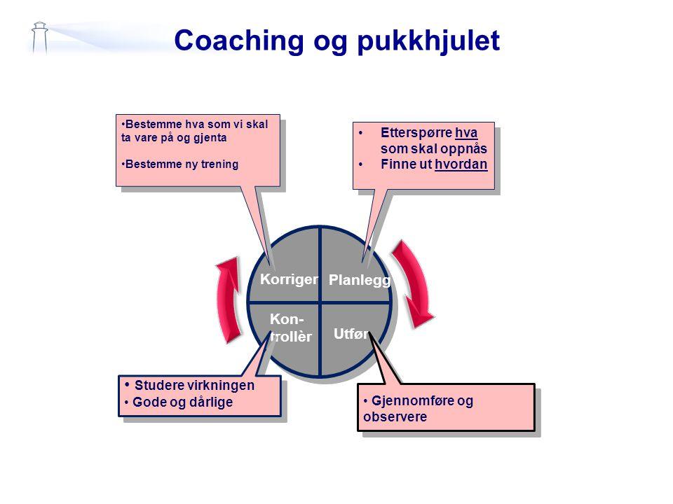 Coaching og pukkhjulet
