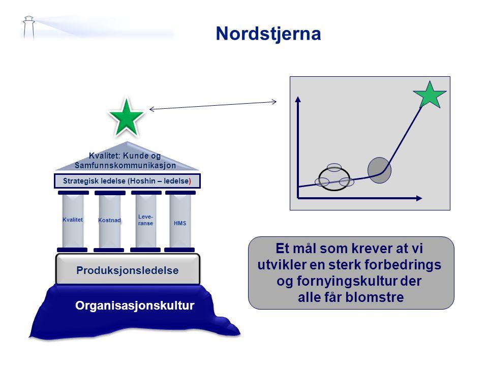 Samfunnskommunikasjon Strategisk ledelse (Hoshin – ledelse)