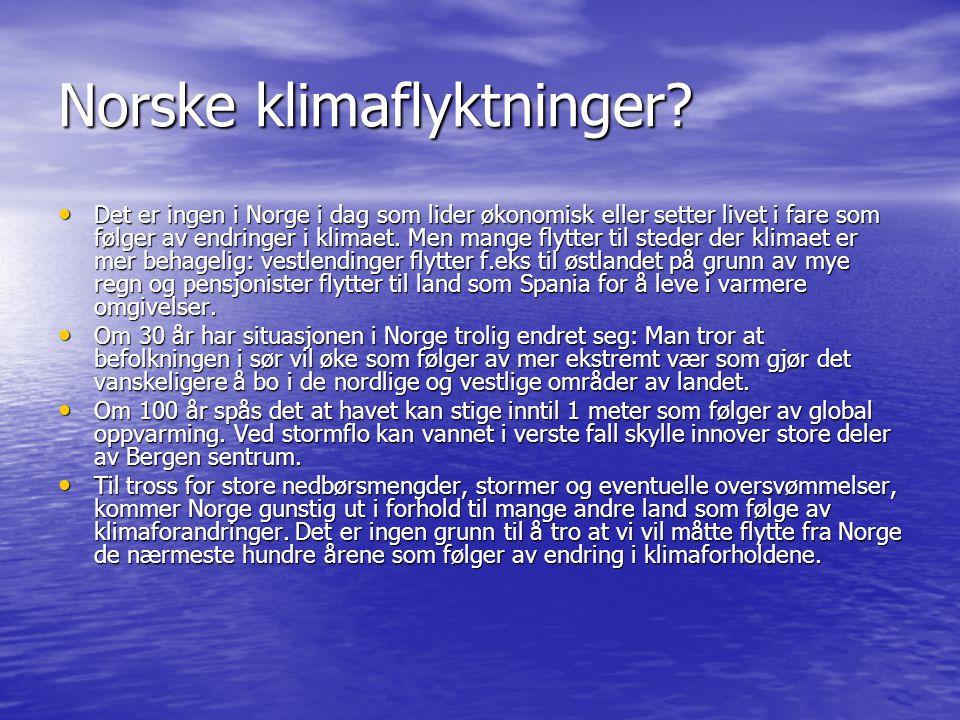 Norske klimaflyktninger
