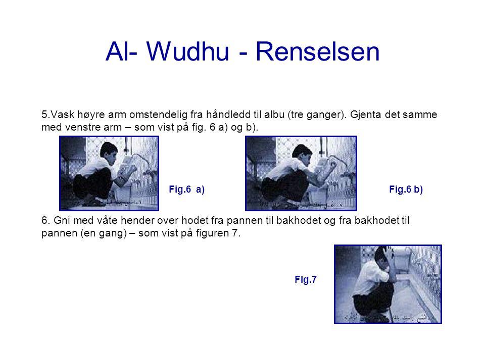 Al- Wudhu - Renselsen