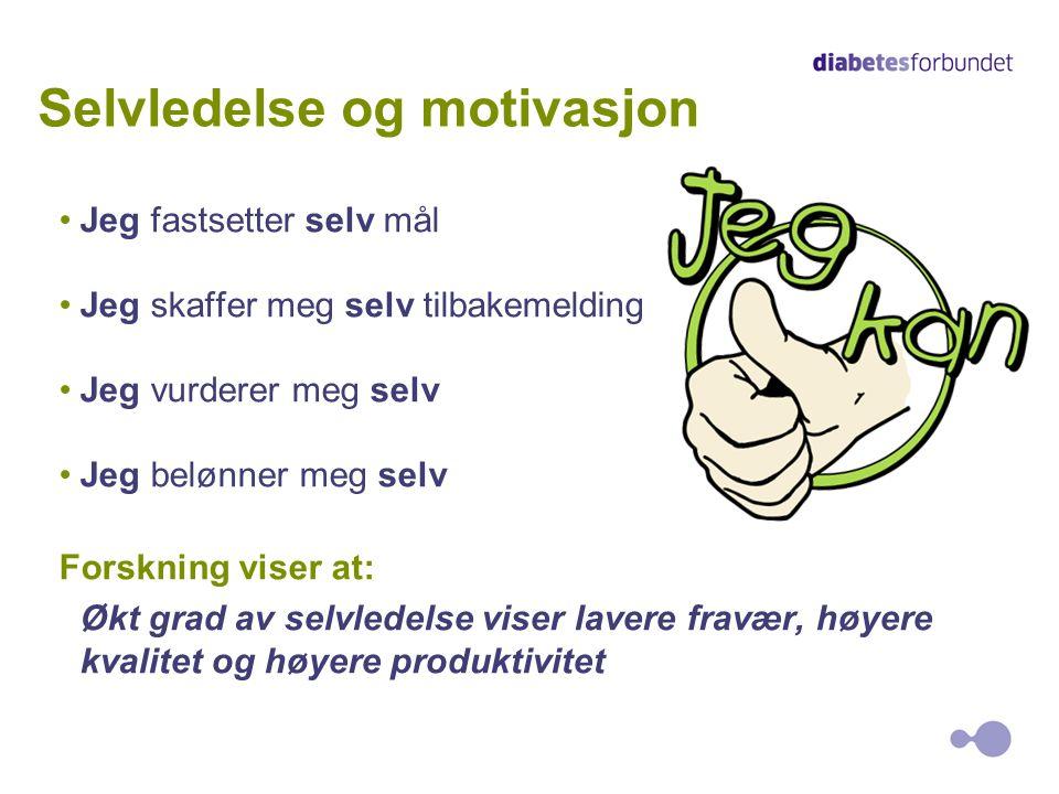 Selvledelse og motivasjon