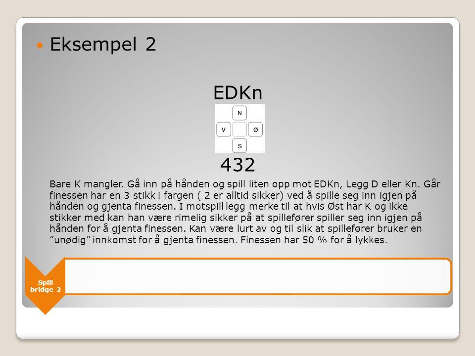 Eksempel 2 EDKn. 432.