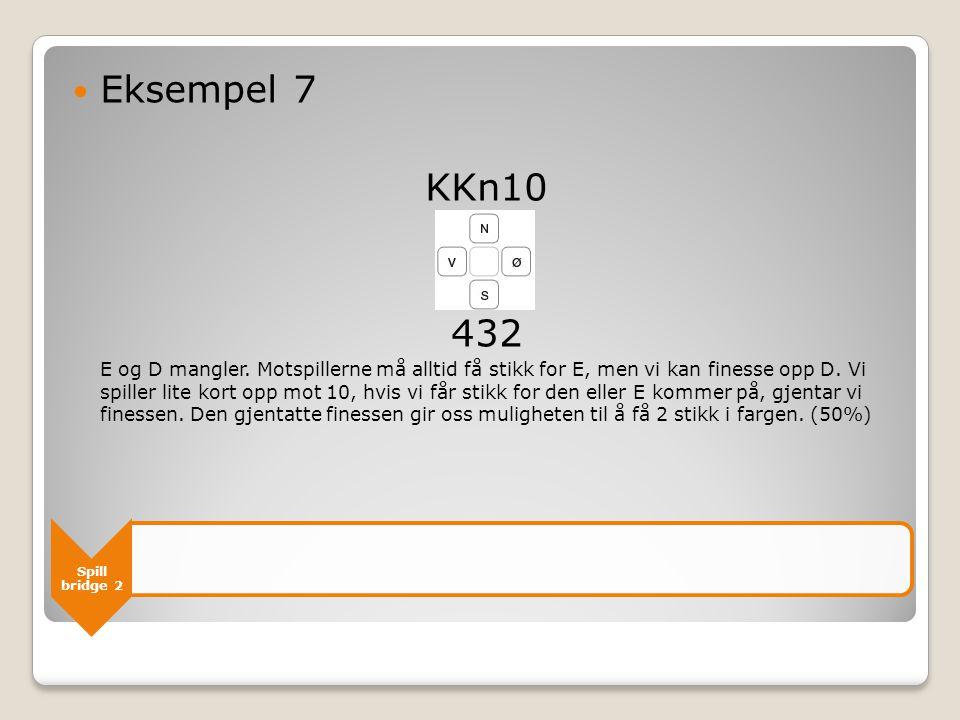 Eksempel 7 KKn10. 432.