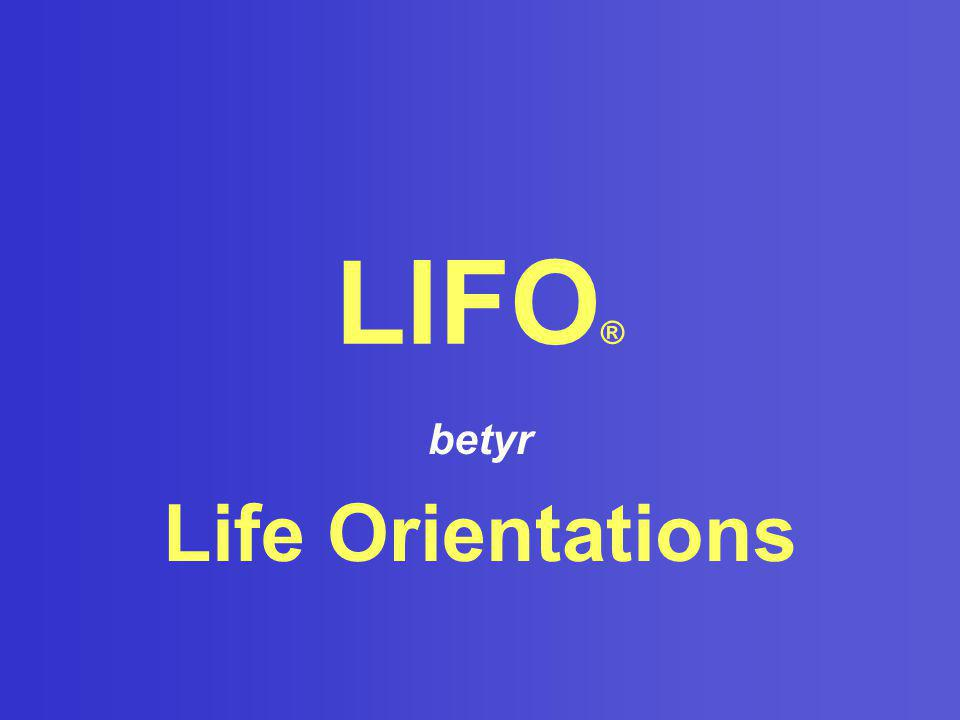 betyr Life Orientations