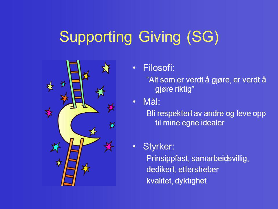 Supporting Giving (SG)