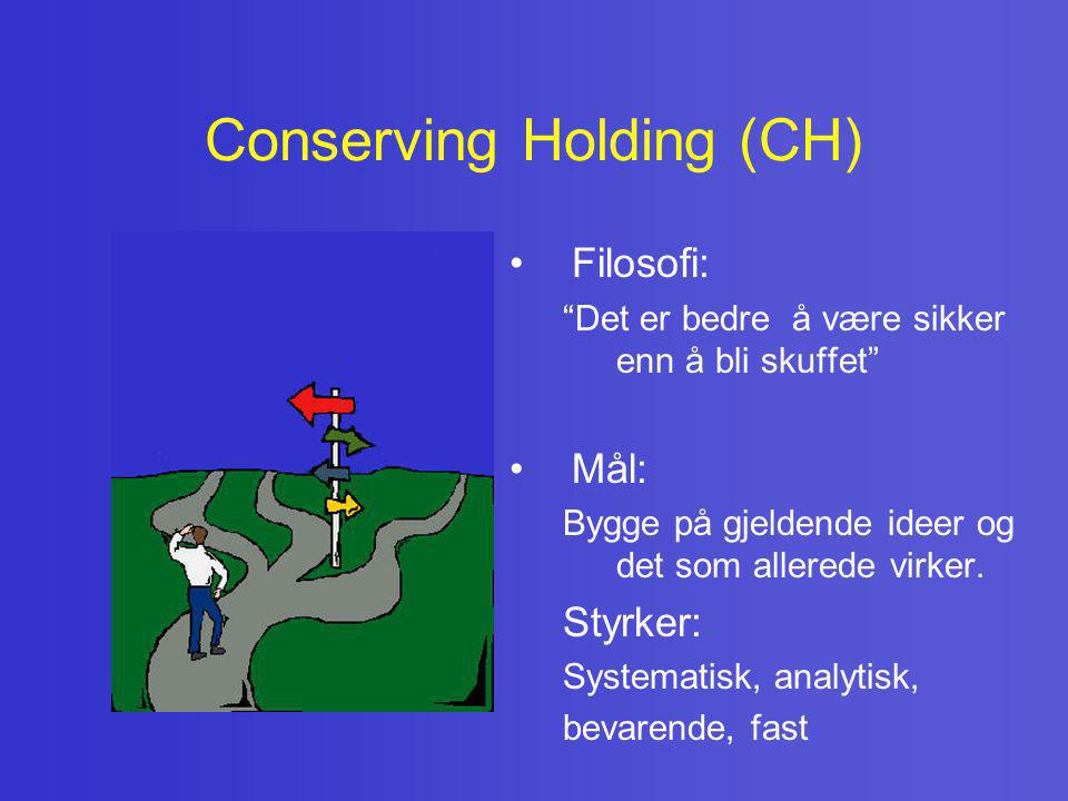 Conserving Holding (CH)