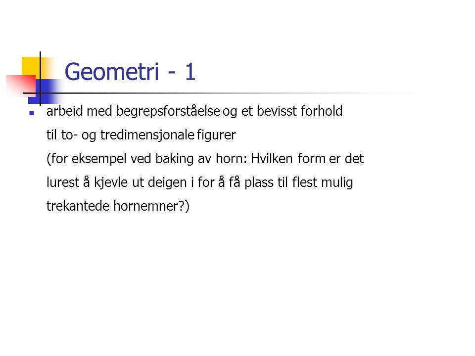 Geometri - 1