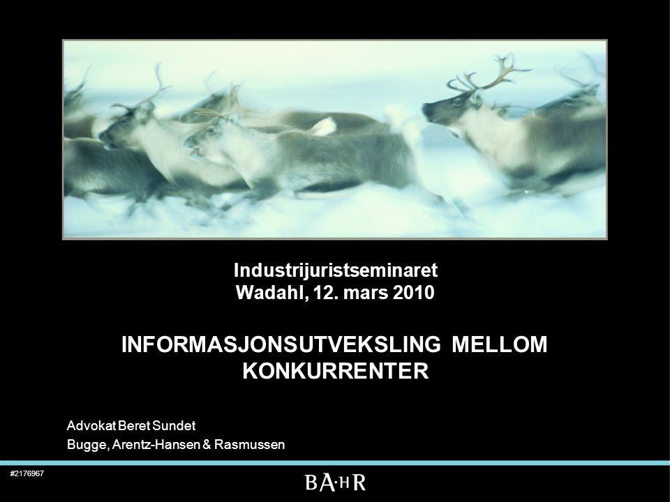Advokat Beret Sundet Bugge, Arentz-Hansen & Rasmussen