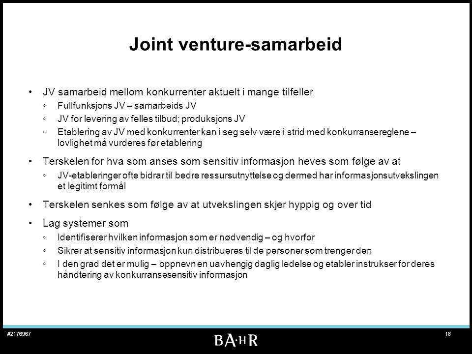 Joint venture-samarbeid
