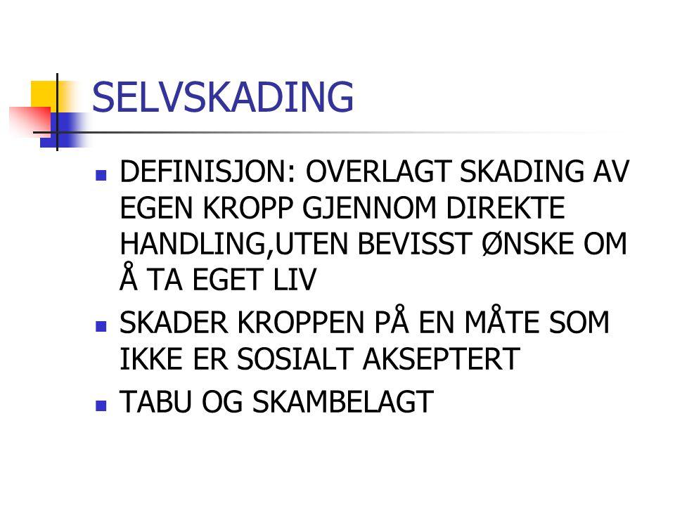 SELVSKADING