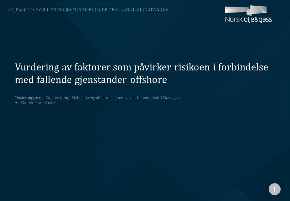 03.04.2017 - Avslutningsseminar prosjekt Fallende gjenstander.
