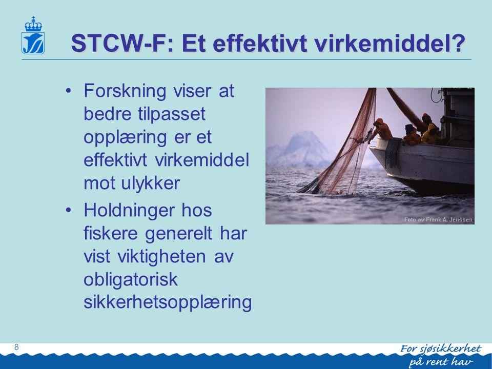 STCW-F: Et effektivt virkemiddel