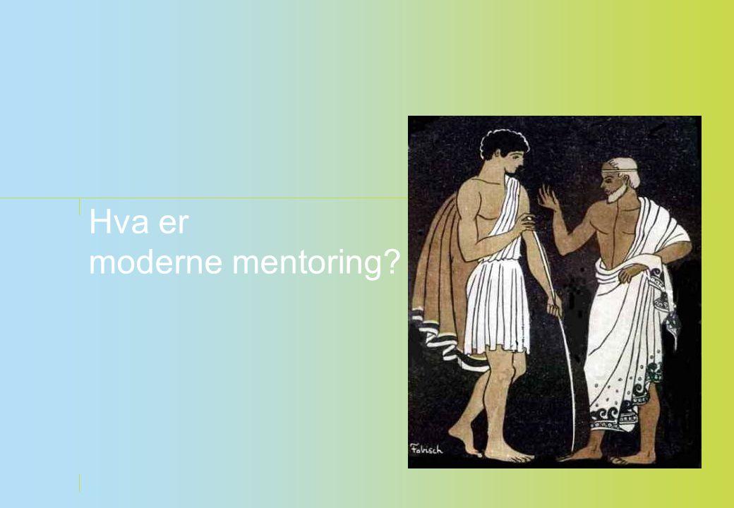 Hva er moderne mentoring