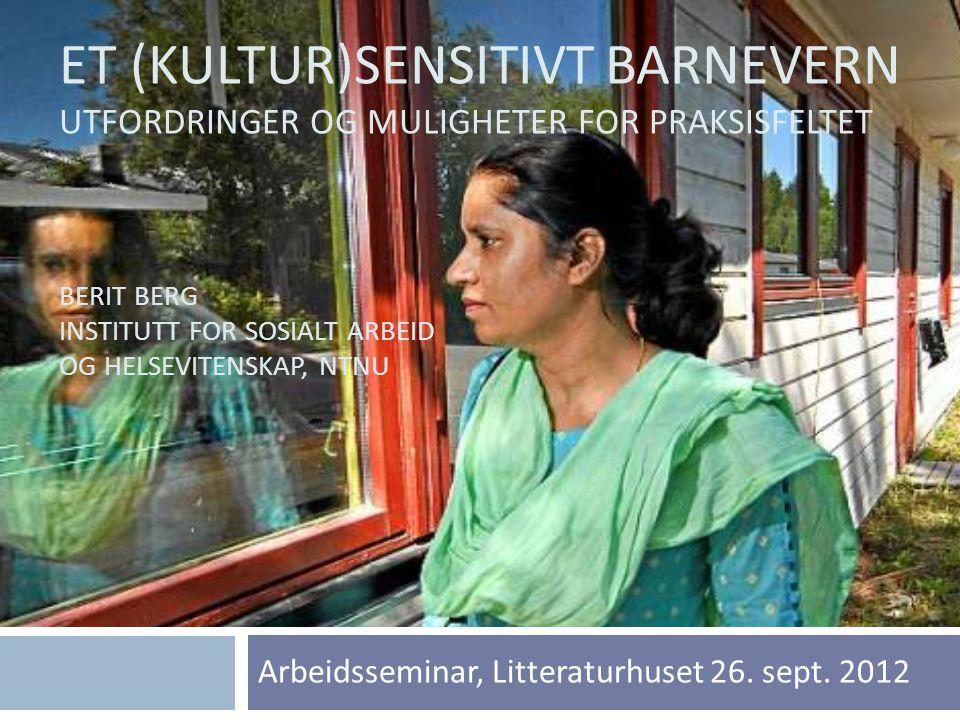 Arbeidsseminar, Litteraturhuset 26. sept. 2012