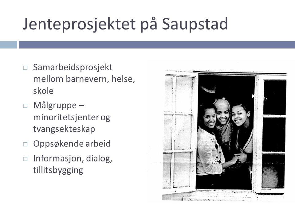 Jenteprosjektet på Saupstad