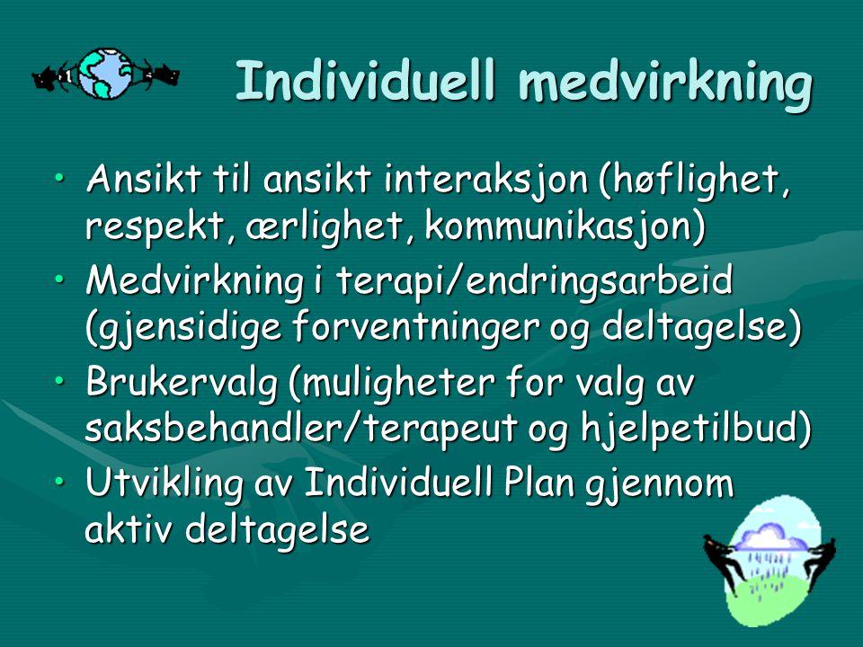 Individuell medvirkning