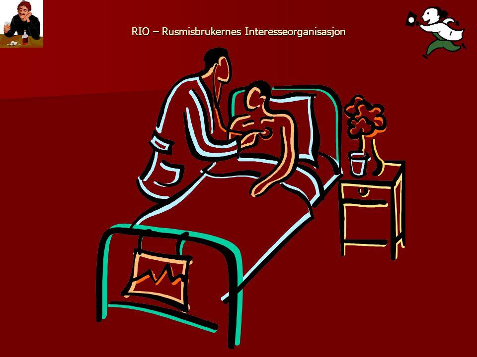 RIO – Rusmisbrukernes Interesseorganisasjon