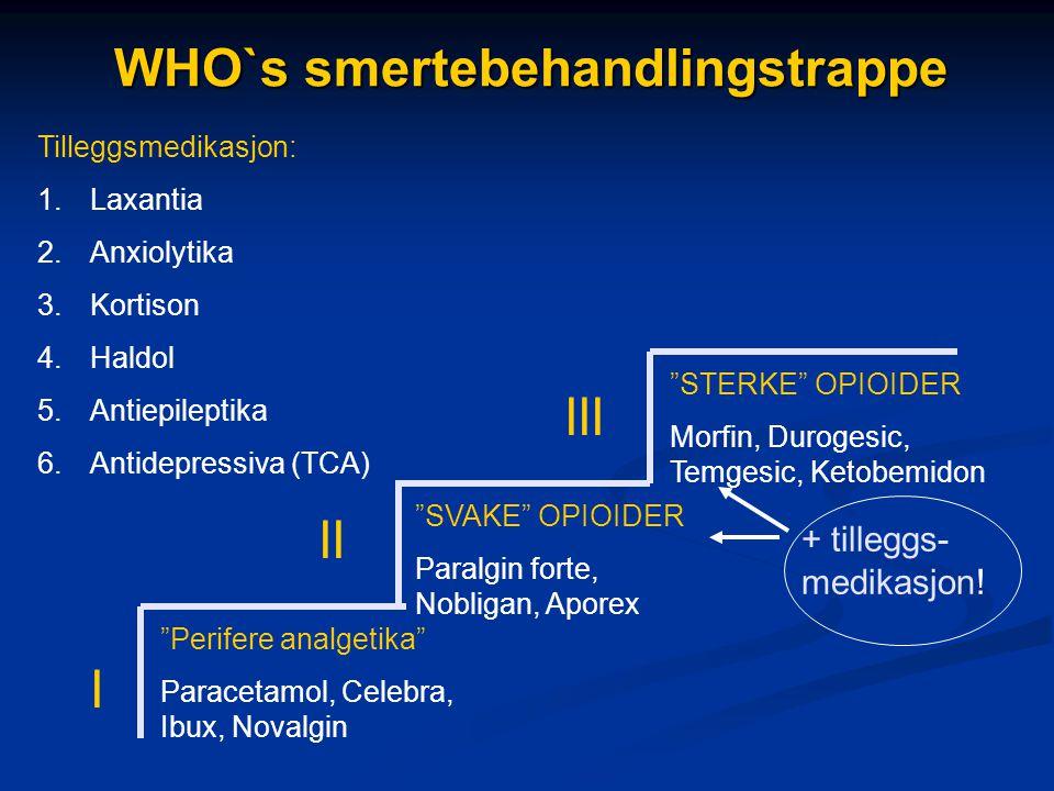 WHO`s smertebehandlingstrappe